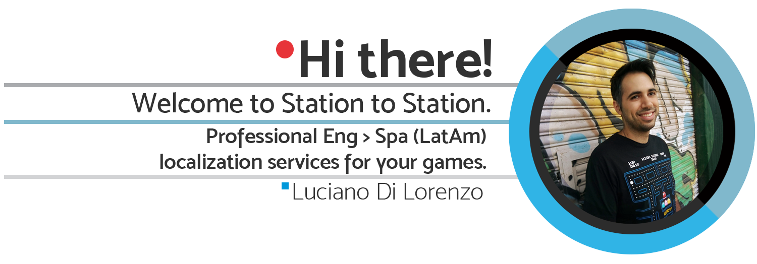 Professional English to Spanish (LATAM) video game localization services